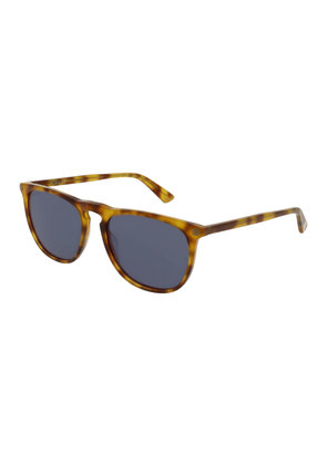 Acetate Pantos Sunglasses, Brown