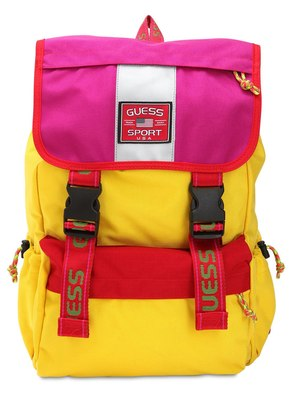 SEAN WOTHERSPOON NYLON CANVAS BACKPACK