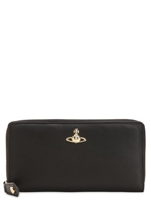 BALMORAL LEATHER ZIP AROUND WALLET