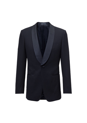 Chester Barrie Black Eastleigh Wool Evening Suit