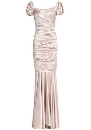 Dolce & Gabbana Woman Gowns White Gold Size 38