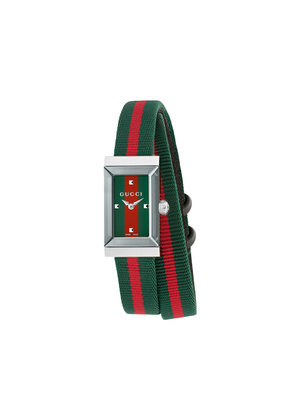 Gucci G-Frame 14x25mm watch - Green