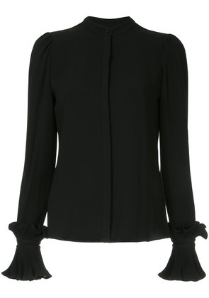 Co longsleeved ruffled blouse - Black