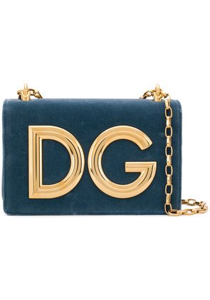 Dolce & Gabbana DG Millennials crossbody bag - Blue