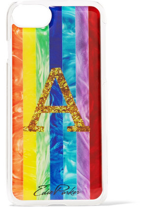 Edie Parker - + Goo. ey Rainbow Printed Plastic Iphone 6 And 7 Case - Yellow