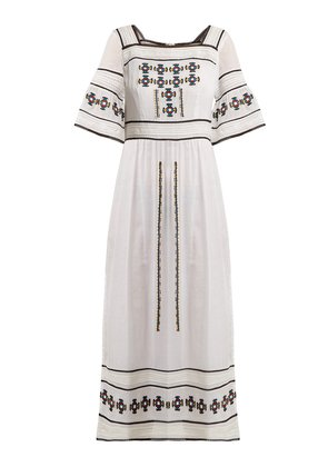Sarafina embroidered cotton dress