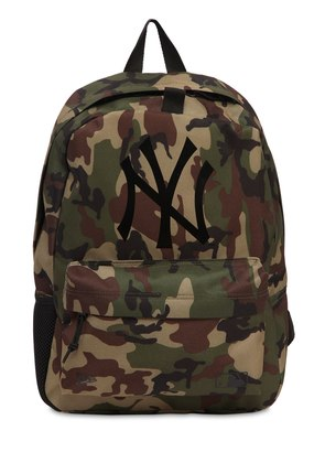 NY YANKEES STADIUM CAMO BACKPACK
