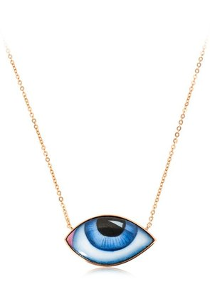 ESCAPULARIO ENAMELED EYES NECKLACE