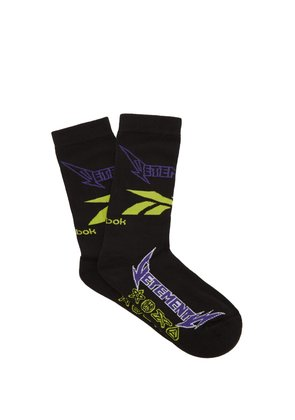X Reebok Metal socks