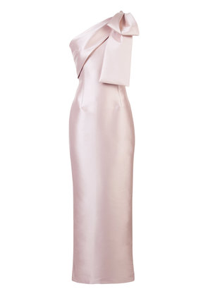 Sachin & Babi Bonnie fitted dress - Pink & Purple