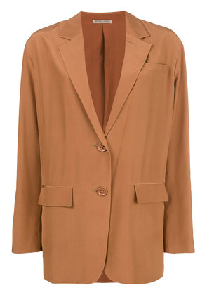 Bottega Veneta oversize single-breasted blazer - Neutrals