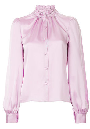 Co ruched neck shirt - Pink