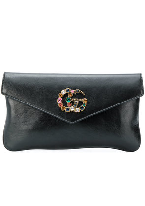 Gucci Broadway crystal evening bag - Black