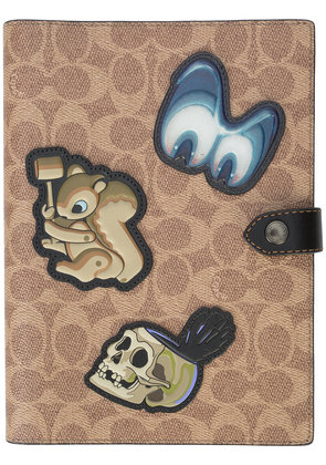 Coach Coach x Disney signature sketchbook - Brown