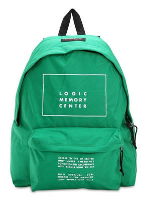 EASTPAK PRINTED CANVAS BACKPACK