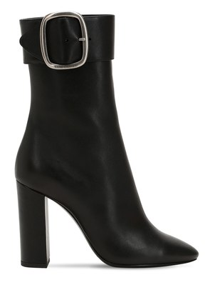 105MM JOPLIN LEATHER ANKLE BOOTS