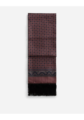 Dolce & Gabbana Scarves and Silks - PRINTED SILK SCARF MULTI-COLORED