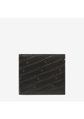 Bally Beisel Black, Men's calf leather coin wallet in black