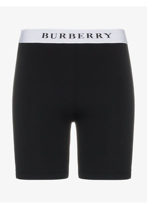 Burberry barito logo band shorts