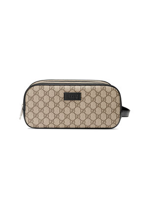 Gucci GG Supreme toiletry case - Nude & Neutrals