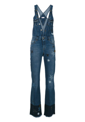 Red Valentino denim dungarees - Blue