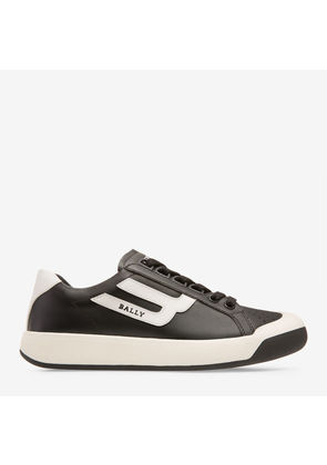 Bally The New Competition Black, Women's calf leather trainer in black