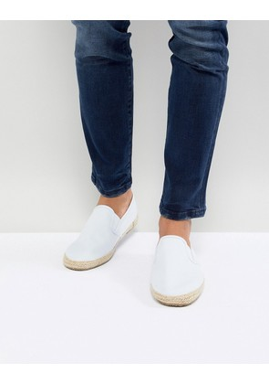Brave Soul Espadrilles In Blue - White