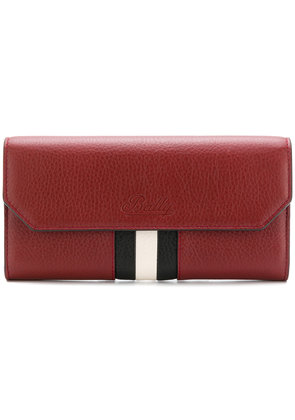 Bally front striped purse - Red