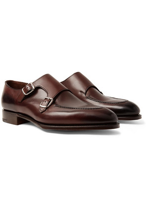 Fulham Leather Monk-strap Shoes