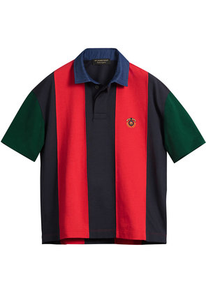 Burberry Reissued striped polo shirt - Red