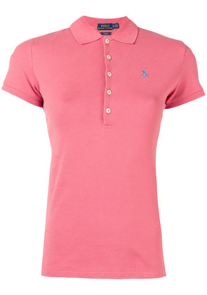 Polo Ralph Lauren logo patch polo shirt - Red