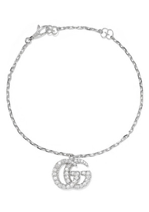 Gucci - 18-karat White Gold Diamond Bracelet - medium