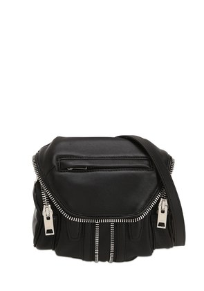 MICRO MARTI NAPPA SHOULDER BAG