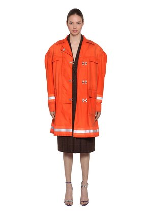 FIREMAN COTTON GABARDINE COAT