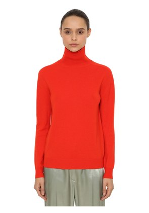 CASHMERE KNIT TURTLENECK SWEATER