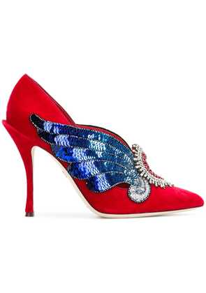 Dolce & Gabbana love heart pumps - Red