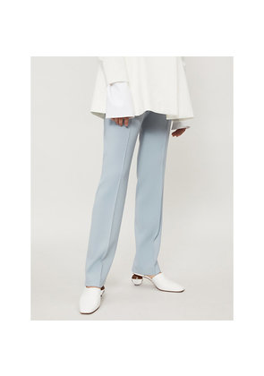 Emilio straight wool trousers