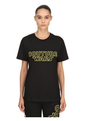 OVERSIZED COUTURE WARS JERSEY T-SHIRT