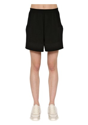 COTTON & CASHMERE KNITTED SHORTS