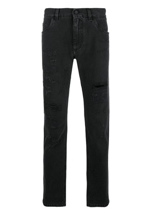 Dolce & Gabbana distressed jeans - Black