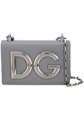 Dolce & Gabbana DG Millennials crossbody bag - Grey