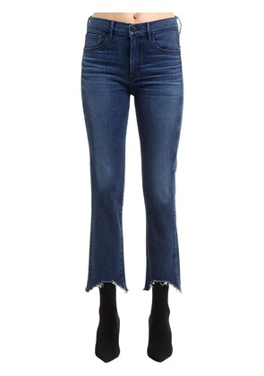 W3 STRAIGHT AUTHENTIC CROP STRETCH JEANS