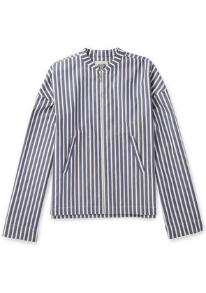 Connolly - Striped Cotton Jacket - Blue