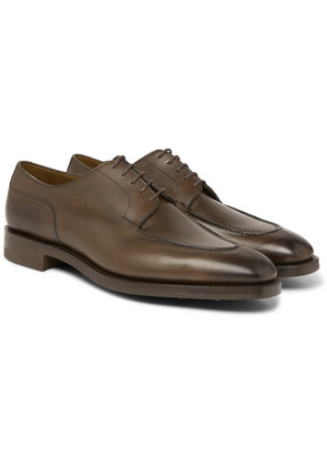 Edward Green - Dover Leather Derby Shoes - Green