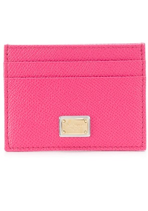 Dolce & Gabbana card holder - Pink & Purple