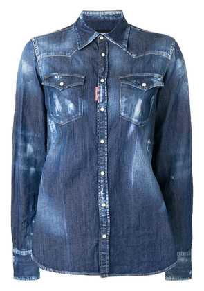 Dsquared2 denim shirt - Blue