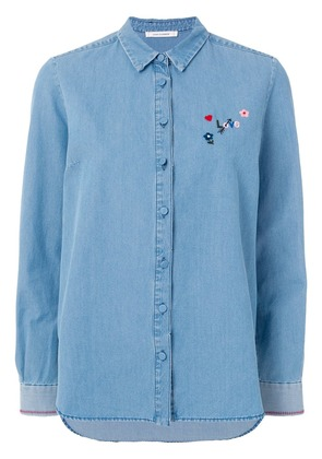Chinti & Parker buttoned up shirt - Blue