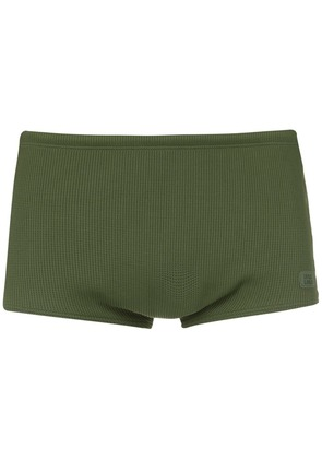Track & Field embossed trunk - Green