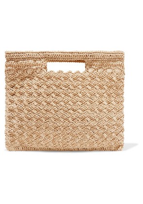 Carrie Forbes - Lucy Woven Faux Raffia Tote - Neutral