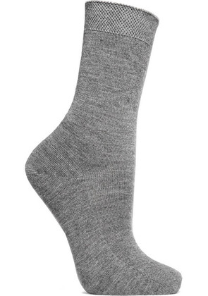 Falke - No.1 Cashmere-blend Socks - Gray